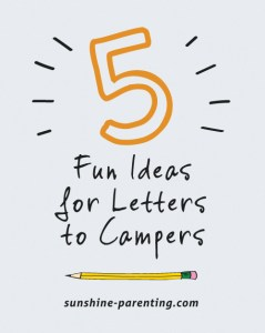 5 Fun Ideas for Letters to Campers