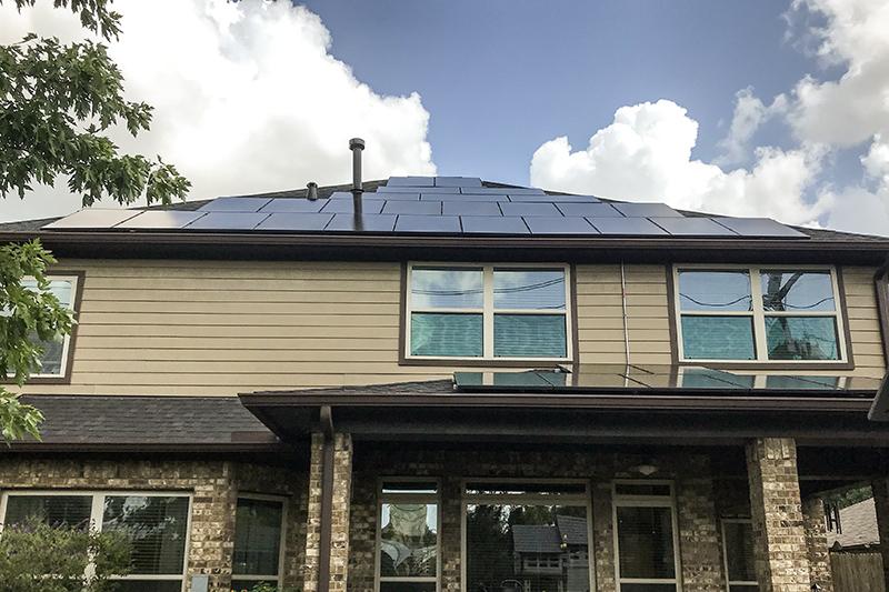 Solar Panel Install in East Houston