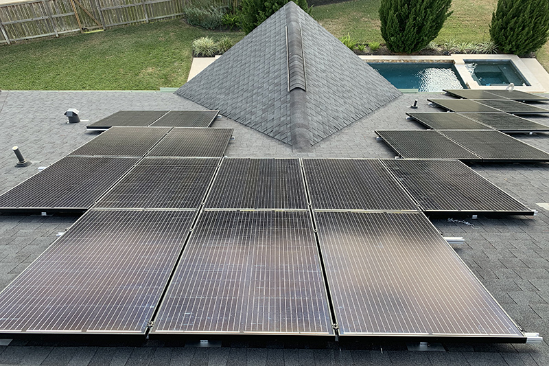 Residential Solar Install in Katy