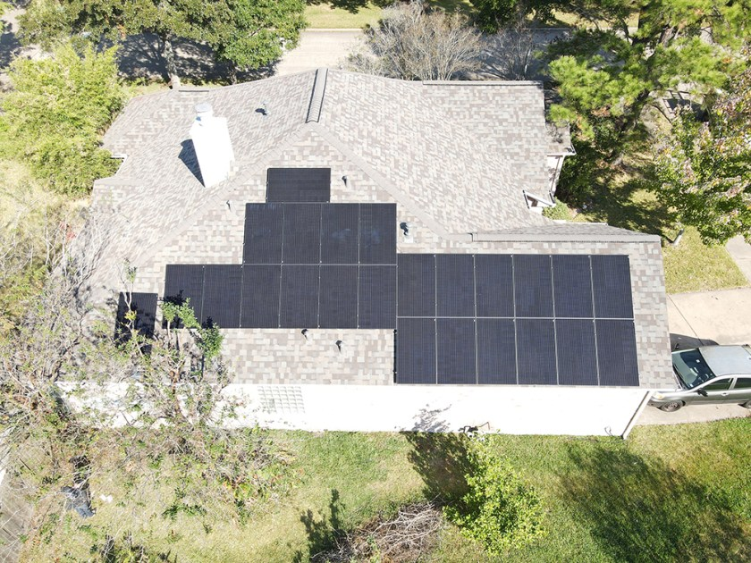 Solar Panel Placement on South Side of Roof