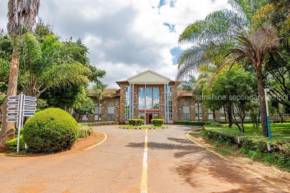 Sunshine Secondary School Administration Block Entrance