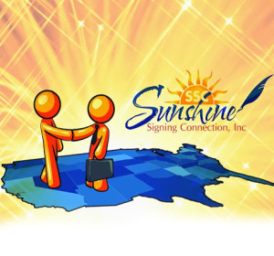 Sunshine Signing is your Nationwide Mobile Notary Service