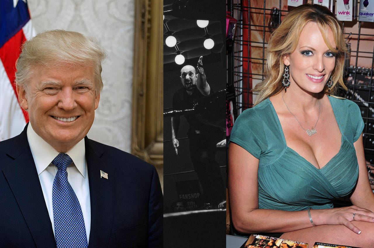 Trump and Stormy Daniels Notary Scandal