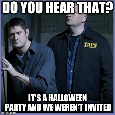 ghost hunters halloween party