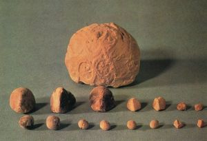 Sumerian Clay Tokens and Envelope