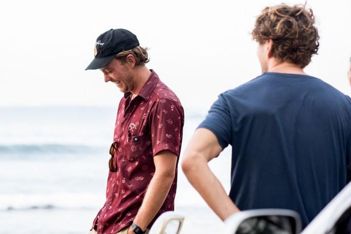 Surf coach Tom at Sunshinestories