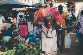 Watermelons at Ahangama market
