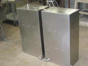 Custom aluminum Fuel Tanks