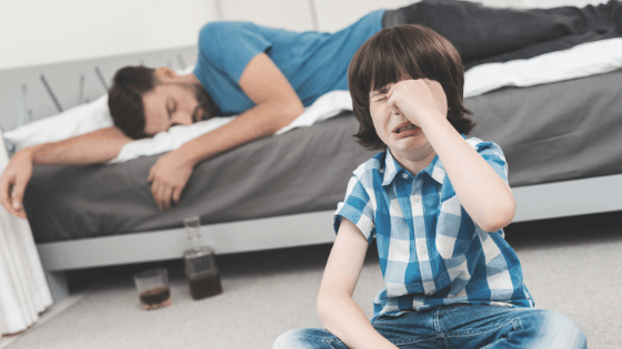 Children of addicts: how are they affected by their parents