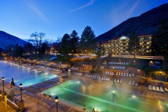 Glenwood Hot Springs Spa, Colorado