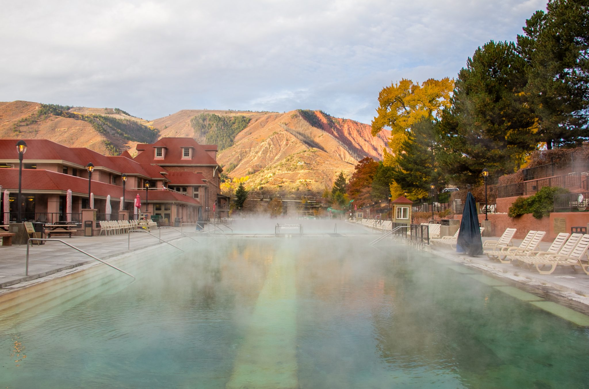 Hot Springs Fall Morning