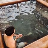Chad hot springs soaking