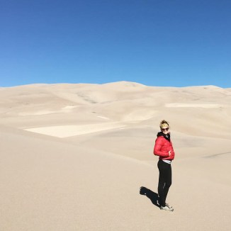 Sand Dunes in CO