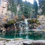 Hanging Lake, a local natural wonder