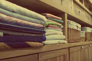 baskets clean color cotton
