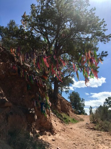 The hike to Doc Holliday's Grave, in Glenwood Springs, CO
