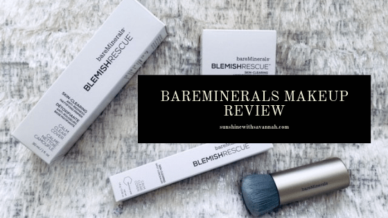 New makeup review: Bare Minerals