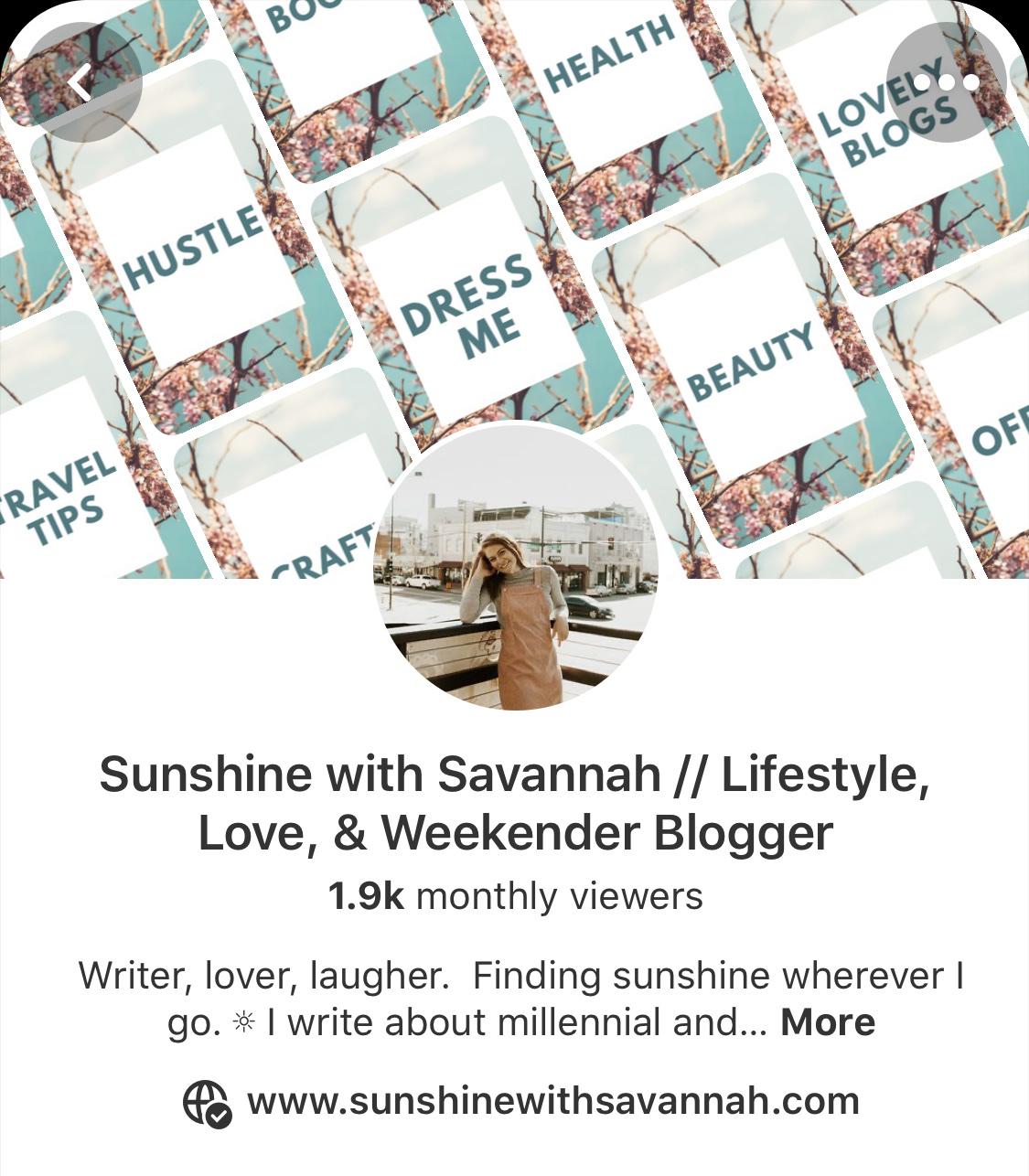 blogging pinterest