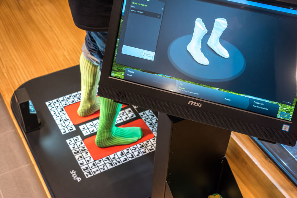 """3D model of your feet for feet like a glove boot"""