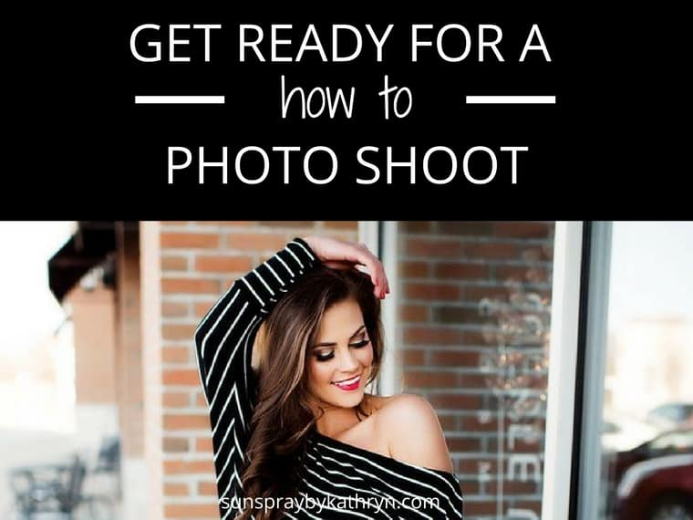 How to get ready for a phototshoot blog feature image