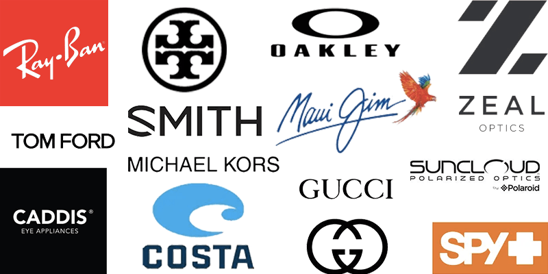 Authorized retailer of every brand we sell