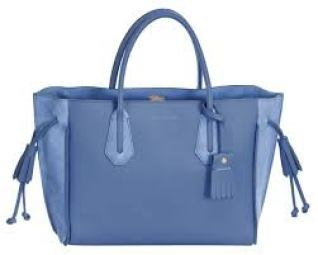 LONGCHAMP'S SPRING SUMMER 2017 BAGS COLLECTION blue tote