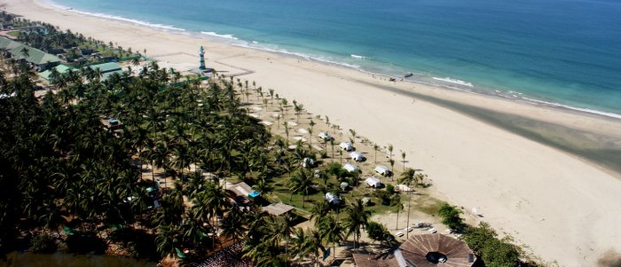 top 5 best beach getaways for summer around the world ngwe saung beach myanmar