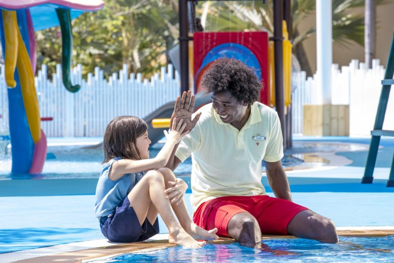 the ultimate family holiday at Club Med Bintan Island kid's club poolside