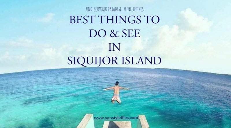 Best things to do and see in Siquijor Island