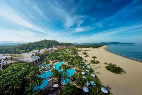 best luxury beach resorts in malaysia - shangri la rasa ria view