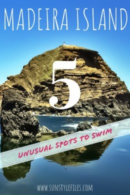 Madeira Island Top 5 Unusual Spots for Swimming #portugal #island #lavapools #beaches #dolpins