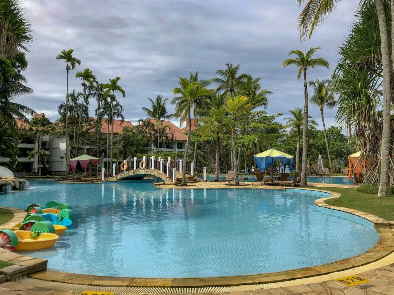 children's swimming pool at Bintan Lagoon Resort