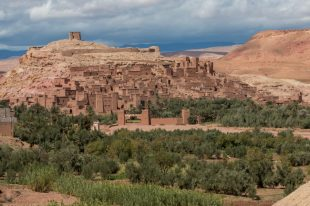 Ait Ben Haddou from the distance