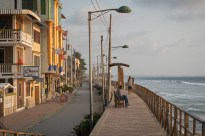 Beach pathway in Montanita