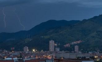More lightning striking