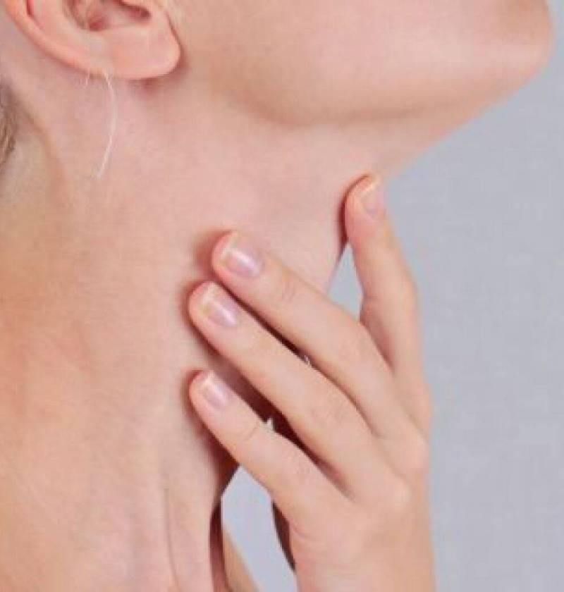 glanda tiroida femeie
