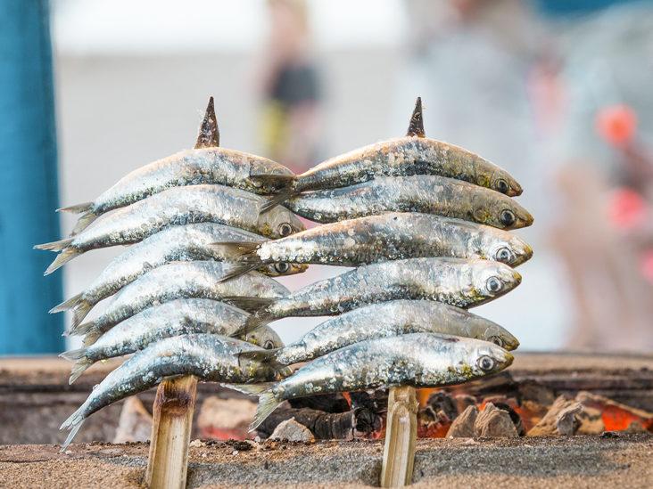sardine, gustari sarace in calorii
