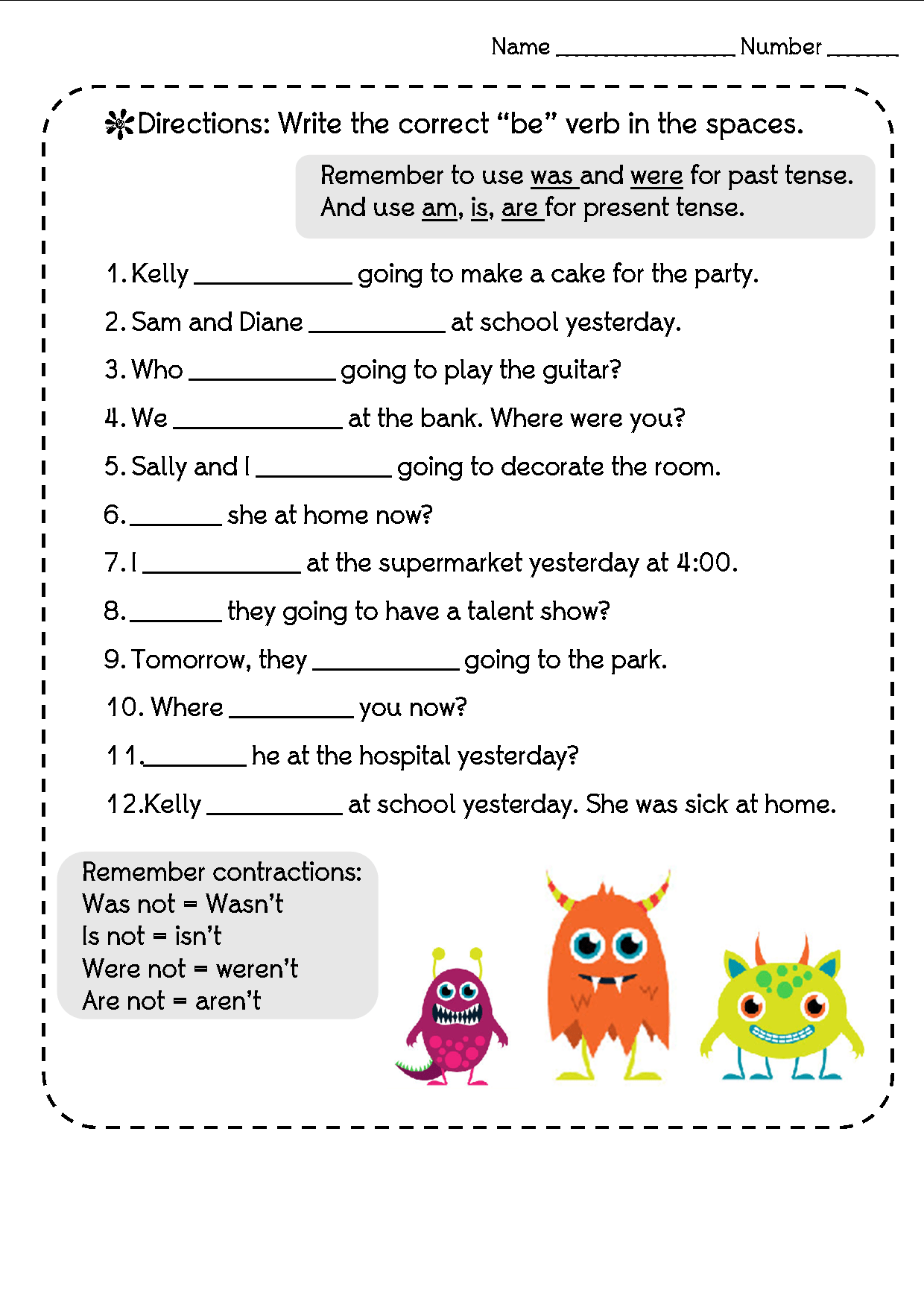 New 41 Tenses Worksheet For Grade 3