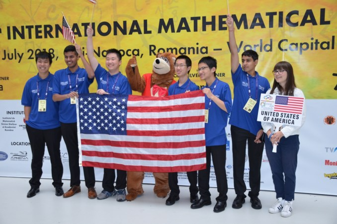 American mathematics competition for Students in 2019