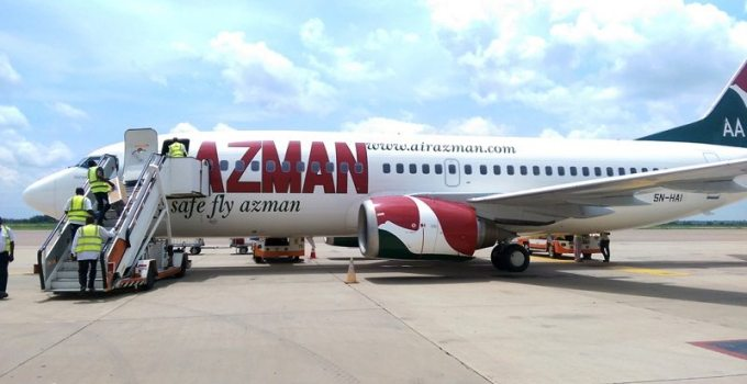 Azman Airline Flight Booking