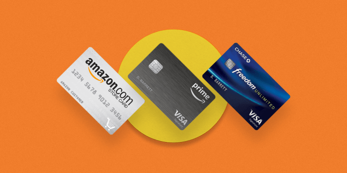 Amazon Store card, Amazon Prime & Amazon Rewards Visa Cards