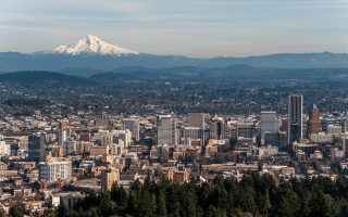 Most Populous Cities in Oregon, United States of America