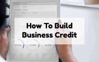 How Can You Build Business Credit?