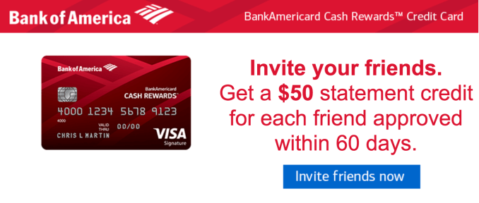 Bank of America Cash Rewards for Students Card Summary