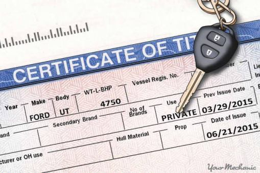What is needed to Transfer a Car Title?