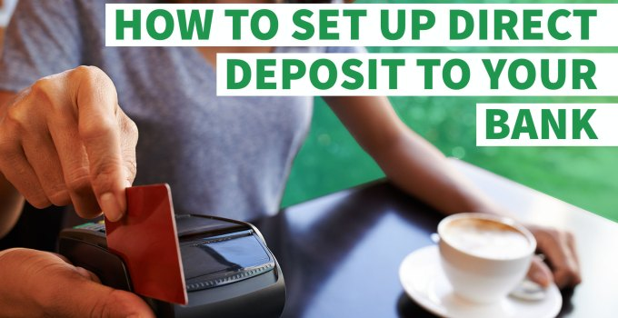 how to set up direct deposit