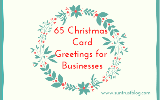 65 Christmas Card Greetings for Business: