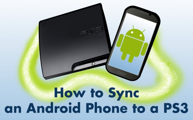 How to Sync a Phone to a PS3