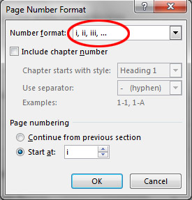 How to Paginate in a Word Document