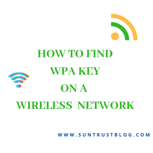 WPA Key on a Wireless Network